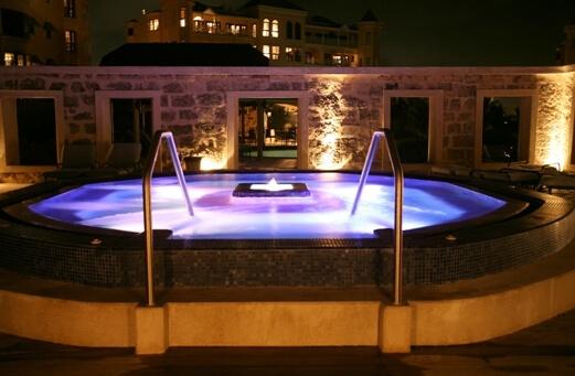 Crane Jacuzzi Pool