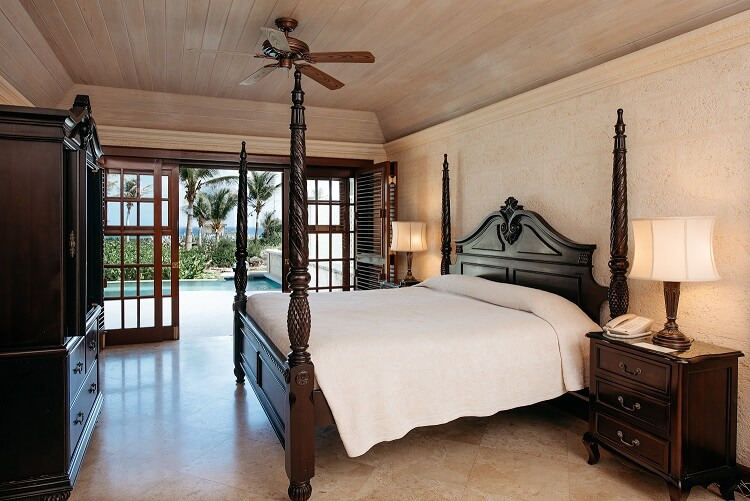 Ocean View 28 ft. Pool - Master Bedroom