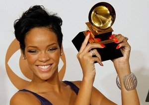 Rihanna First Grammy