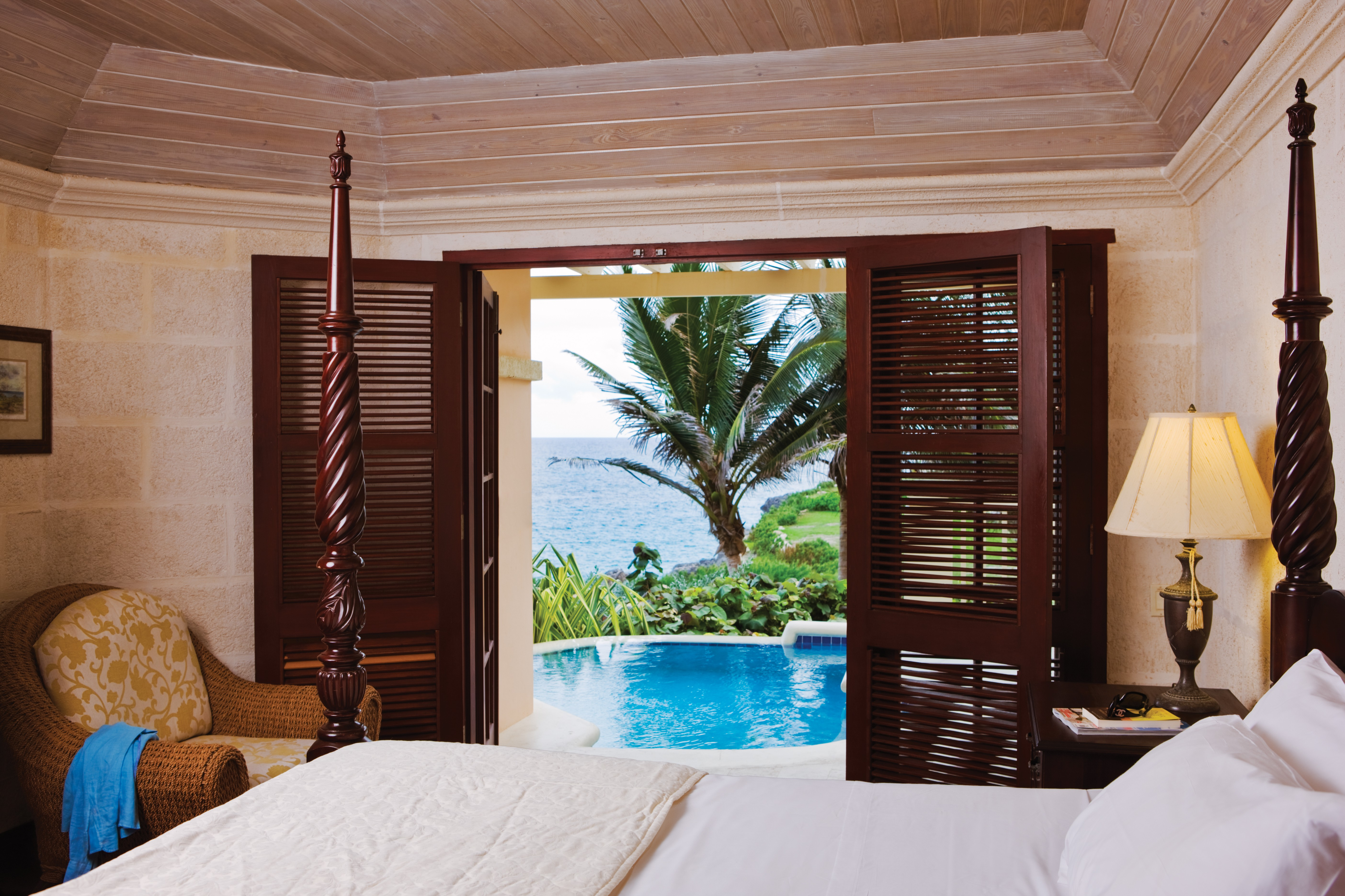 One Bedroom Ocean View Plunge Pool Ground Bedroom (Bldg 2)